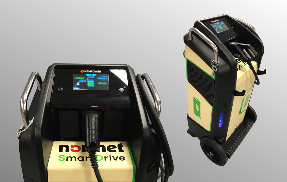 Kempower charger for Nomet SmartDrive fleet