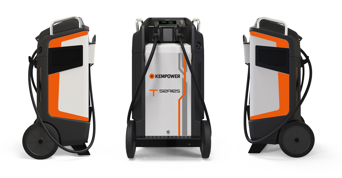 Kempower movable fast charger