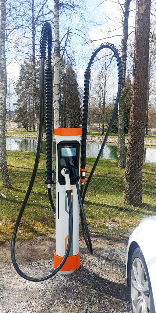 Fast charging satellites post can also be seen from far away